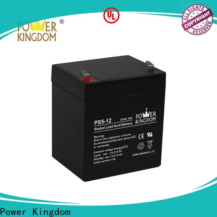 Power Kingdom maintenance free deep cycle battery company