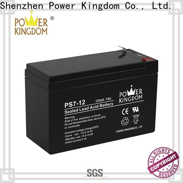 Power Kingdom no electrolyte leakage 80 amp deep cycle battery factory price wind power systems