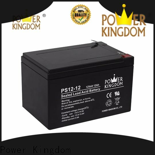 Power Kingdom cycle 50 amp hour deep cycle battery Suppliers