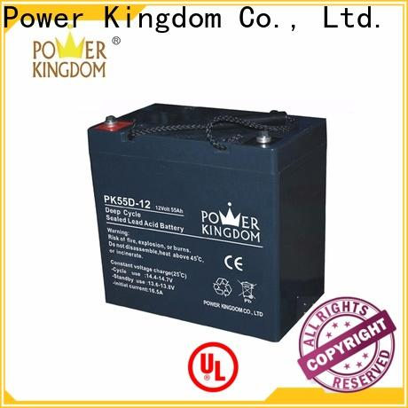 Power Kingdom agm battery specs company deep discharge device