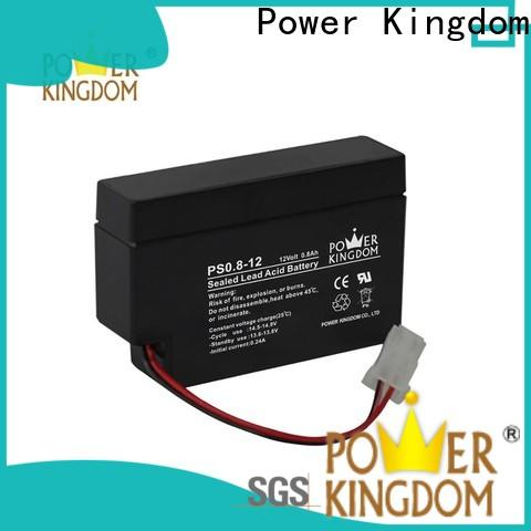 Power Kingdom cycle lithium deep cycle battery factory