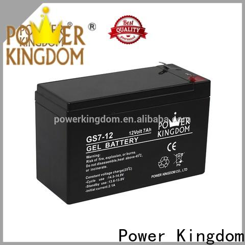 Power Kingdom Best 12v 220ah deep cycle battery Supply vehile and power storage system