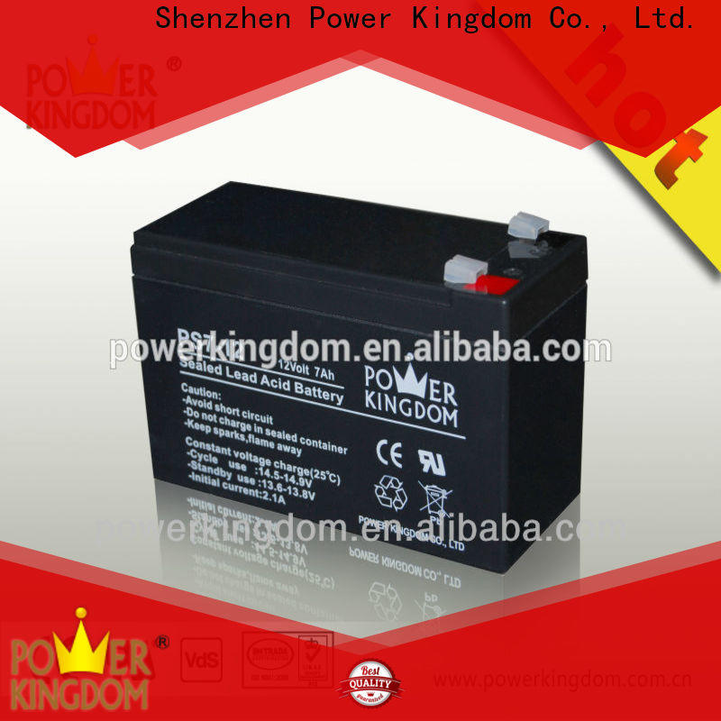 Power Kingdom cycle deep cycle battery bank factory price vehile and power storage system
