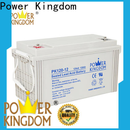 Power Kingdom gel valve regulated sealed battery for business solar and wind power system