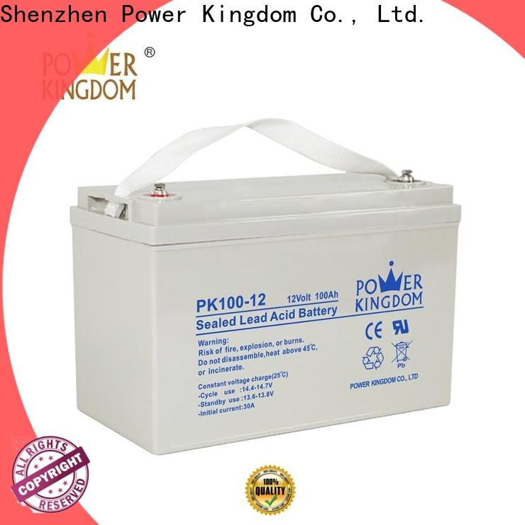 Power Kingdom gel cell rv batteries directly sale Power tools