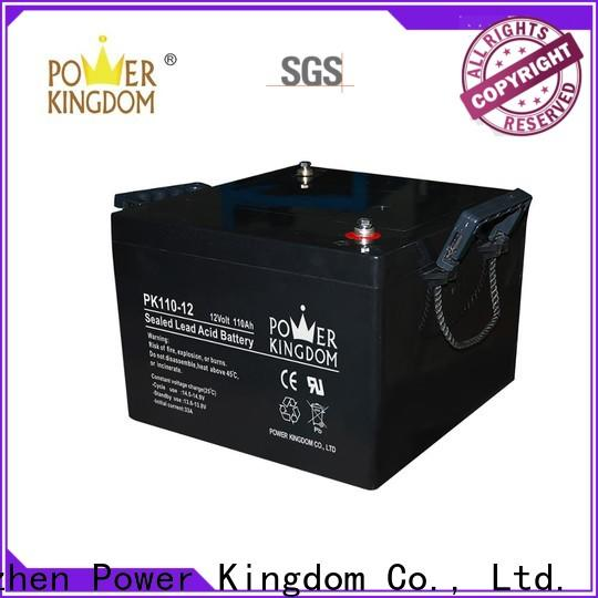 Power Kingdom advanced plate casters 6 volt agm batteries for business Automatic door system