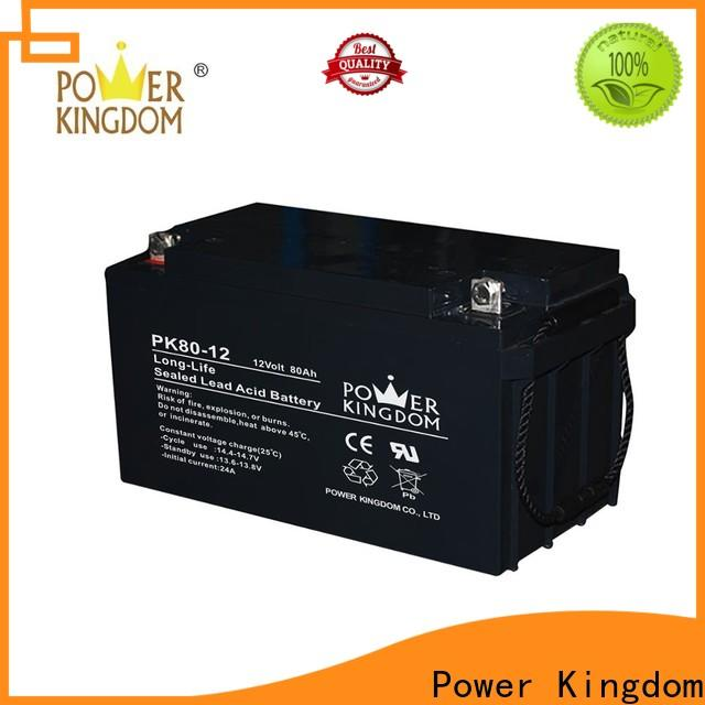 Power Kingdom gel pack battery factory price Automatic door system